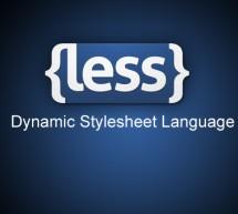 Turbine seu CSS com a biblioteca LESS