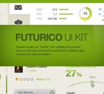 Aproveite! Componentes de interface de usuário grátis em PSD!