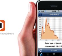 Magento Mobile Dashboard