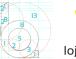 Redesenho de logotipo com técnicas de proporção Áurea